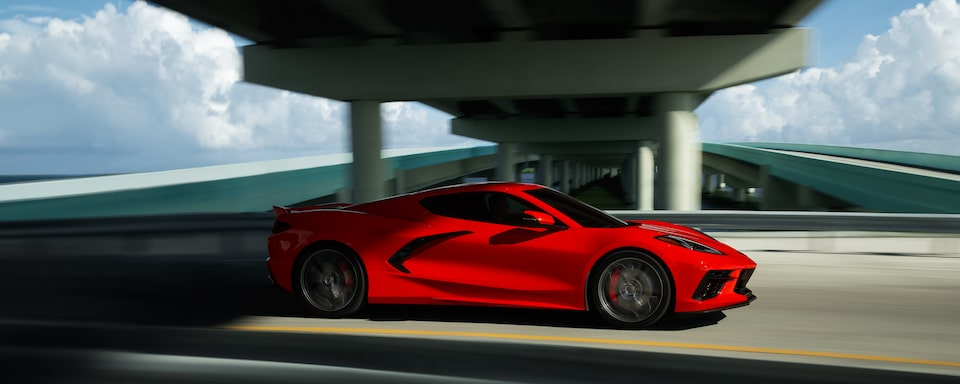 2020 Chevrolet Corvette Performance: Driving